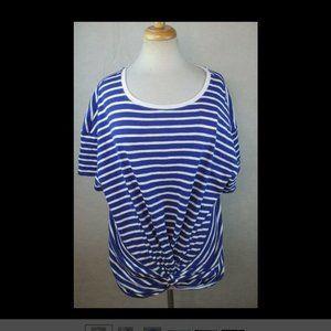 A New Day Women's XXL Knit Top - Blouse, Striped